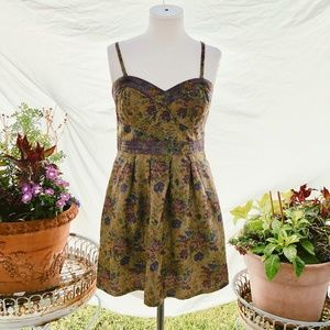 Anthro Free People Tapestry Dress